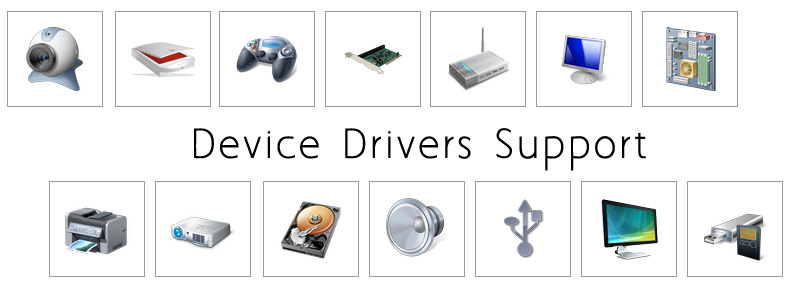 device drivers support