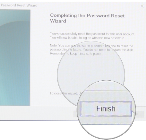 create Password reset disk