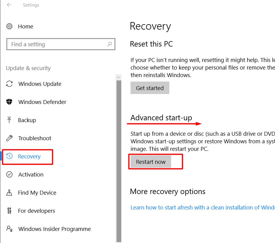 Stuck on Windows 10 update