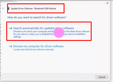 Search automatically for updated