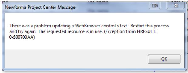 error code 0x800700aa while running Window Defender.