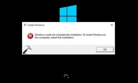 error code 0x800F0908