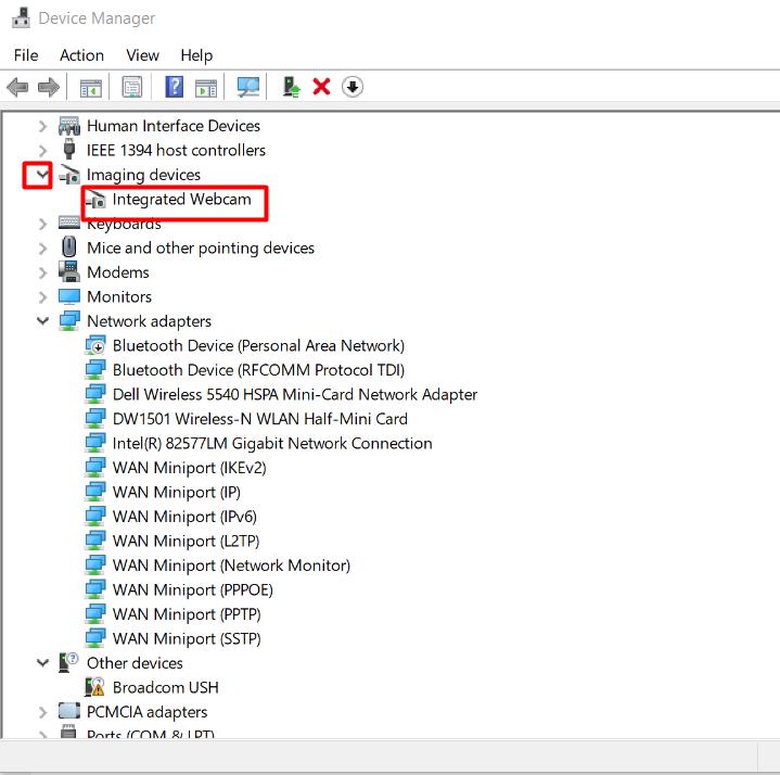 Error code 0xA00F4244 (0xC00DABED) on Webcam