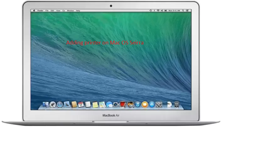 How to add printer on Mac OS Sierra