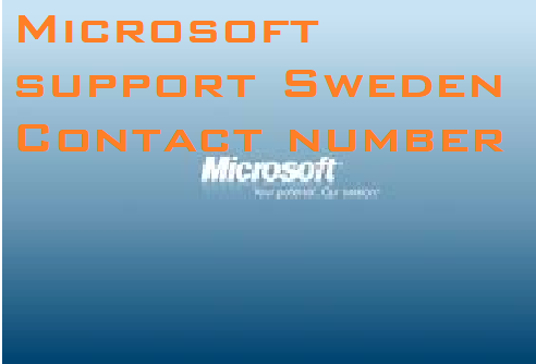 Microsoft support Sweden Contact details