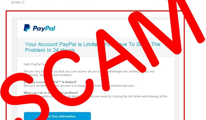 Paypal Fake email