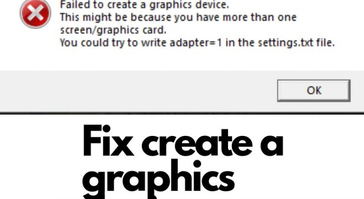 Fix create a graphics device