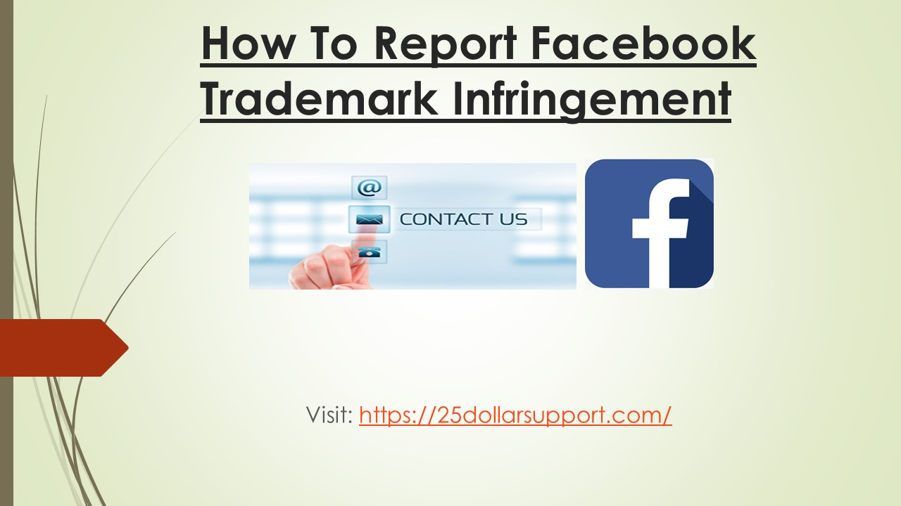 report facebook trademark infringement